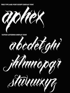 65 Ideas Tattoo Fonts Gangster Behance For 2019 Tattoo Lettering Alphabet, Calligraphy Letters Alphabet, Tattoo Lettering Styles, Chicano Lettering, Graffiti Lettering Fonts, Cursive Fonts, Graffiti Alphabet, Cool Lettering, Lettering Design