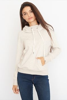 Funnel Neck Hoodie