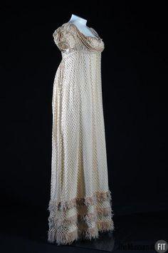 Evening Dress c.1810 British Museum at FIT