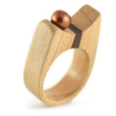 Beautiful wood ring