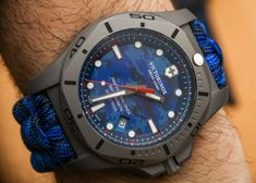 Victorinox Swiss Army INOX Professional Diver Titanium Watches Hands-On G Shock Watches, Sport Watches, Cool Watches, Watches For Men, Wrist Watches, Hublot Watches, Men's Watches, Titanium Watches, Swiss Army Watches