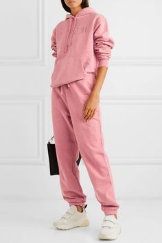 Dusty Rose cotton-jersey Pull on cotton Machine wash Stella Mccartney Sneakers, Sweatpants Outfit, Look Cool, Streetwear Fashion, Fitness Fashion, Cute Outfits, Street Style, Fashion Outfits, Clothes For Women