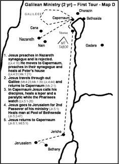 Jesus' Galilean Ministry Tour 1
