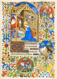 Christ: Nativity   Book of Hours   France, Paris   ca. 1425-1430   The Morgan Library & Museum