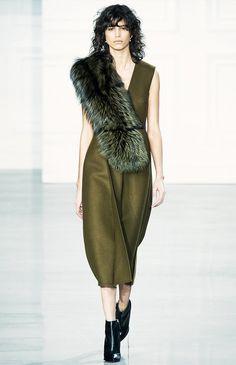 F/W 15 fur stole trend, Jason Wu