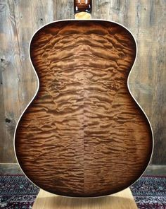 Quilted maple back on a PRS acoustic