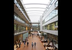 Central St Martins, King's Cross, London, by Stanton Williams