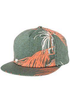 0ff0ffbf01393 Brixton Hat Henshaw Snapback in Green and Rust Multi