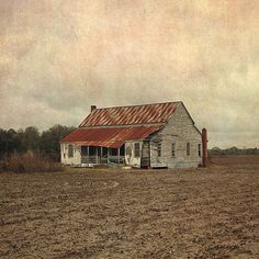 faded farm by brian brown.... I love old farm houses and barns