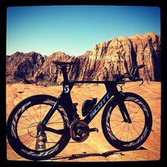 /by lukemckenzie #SCOTT #ZIPP #tri #bicycle
