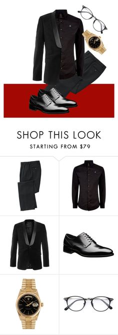 """""""Mens Red Carpet #4"""" by laurelbeauty on Polyvore featuring TravelSmith, Vivienne Westwood, Topman, Rolex, men's fashion and menswear"""