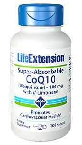 Super-Absorbable CoQ10 Ubiquinone with d-Limonene, 100 mg, 100… #Life_Extension #LifeExtension_com #nutritional #supplement #vitamin