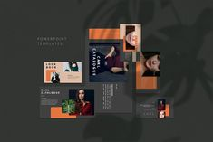 Carl Creative PowerPoint Template by uiplus Powerpoint Free, Creative Powerpoint Templates, License Photo, Good Color Combinations, Presentation Design Template, Free Graphics, Keynote Template, Business Card Logo, Free Design