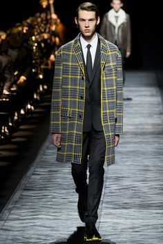 Yellow rush? Coat n Sole! Dior Homme - Fall 2015 Menswear - Look 34 of 49