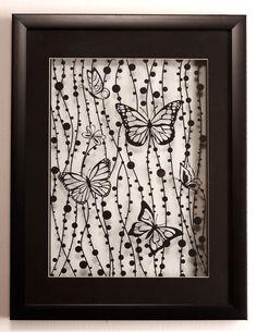 Love love love this paper cut art