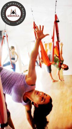 Aerial Yoga, Aerial Yoga Training www.aerialyoga.tv