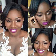 Beautiful @joyadenugamua #makeup #weddingdigest #weddingdigestnaija #weddingdigestnigeria #Padgram
