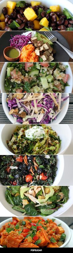 Healthy Salads by popsugar #Salads #Healthy
