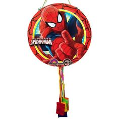 Check Out Ultimate Spiderman Pull String Pinata