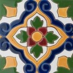 Tile Crafts, Mosaic Crafts, Patchwork Tiles, Moroccan Art, Art Nouveau Tiles, Clay Tiles, Mexican Art, Kitchen Wall Art, Tile Art