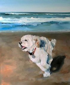 Animal Art Canvas Pet Portraits 19 Ideas For 2019 Frise Art, Dog Portraits, Animal Paintings, Art Oil Paintings, Art Plastique, Art Drawings, Art Photography, Canvas Art, Illustrations