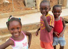 Local kids in Kumasi, Ghana.  By Suyin Lim on Intrepid Travel