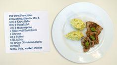 Scaloppine mit Spitzkohl-Mascarpone-Kartoffelpüree