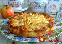 Italijanski šarlot od jabuka – Kolač koji se topi u ustima! Pie Recipes, Baking Recipes, Sweet Recipes, Dessert Recipes, Summer Pie, Russian Recipes, Sweet Cakes, Saveur, Flan