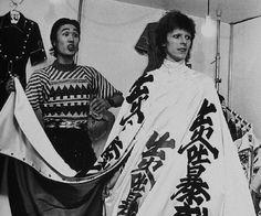 Kansai Yamamoto & David Bowie