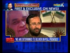 Prakash Javadekar exclusive interview on NewsX with Kartikeya Sharma