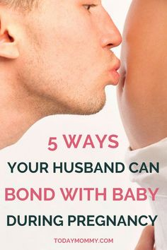 "How To Help Your Husband Bond With Your New Baby - Tips for during pregnancy and after delivery. A must-read for first-time moms! baby tips Tips on how to strengthen this ""husband bond new baby"" connection. Baby Tips, Bond, After Baby, All Family, Pregnant Mom, Sleep While Pregnant, New Dads, First Time Moms, Pregnancy Tips"