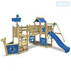 Wieża wspinaczkowa Wickey ArcticFlyer 625630_k by Wickey             Z huśtawką