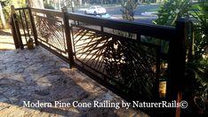 #Modern #Deck #Railing by NatureRails. www.NatureRails.com