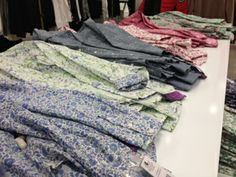 Spring Floral Prints - Perfect on their own, or for layering! As seen at the Hudson's Bay.