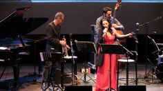 """Village Vanguard tribute"" Fabrizio Bosso Quartet, Elisabetta Fadini, John De Leo. Verona Jazz 2015, June 2015. Roman Theatre of Verona."