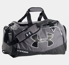 Under Armour Undeniable Storm Medium Duffle Bag - UA Athletic Sport Gym Bags Under Armour, Gym Backpack, Medium Bags, Small Bags, Workout Gear, Travel Bags, Adidas, Lifestyle, Gym Bags