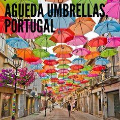 Agueda Umbrellas, Portugal!