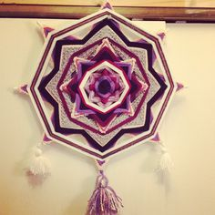 Mandala de lana Deco