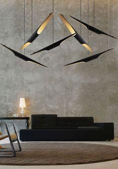Coltrane suspension lamps from Delightfull