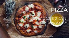 Pizza na spodzie z dyni hokkaido (bezglutenowa)