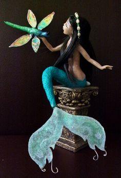 OOAK ART DOLL, Mermaid