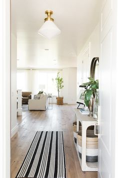 Bright entryway