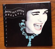 Swing Out Sister Blank Book.  Handmade blank by outpostrecordshop