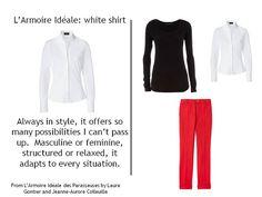 The Vivienne Files: L'Armoire Idéale: white shirt - seven ways