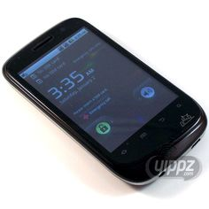 Maxwest Android-3600 Unlocked Worldwide Quad-Band GSM Dual-SIM 3G Smartphone (Black)