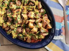 Get Patatas Bravas Recipe from Food Network