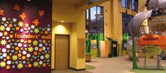 Discovery Gateway children's museum founder's wall by Carolyn Crowley, via Behance