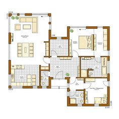 Best House Plans, Modern House Plans, Small House Plans, House Floor Plans, Good House, Tiny House, Prefabricated Houses, Dream Bedroom, Modern Architecture
