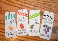 One Artsy Mama: Valentine Bookmarks