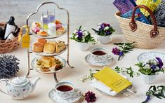 Fit For Queens: 7 Afternoon Tea Plans In Tokyo That Will Take Your Breath Away This Summer - Savvy Tokyo Peninsula Tokyo, Citrus Tart, Afternoon Tea Set, Cheese Rice, Homemade Scones, Tea Powder, Blueberry Cake, Menu Items, Chocolate Cookies